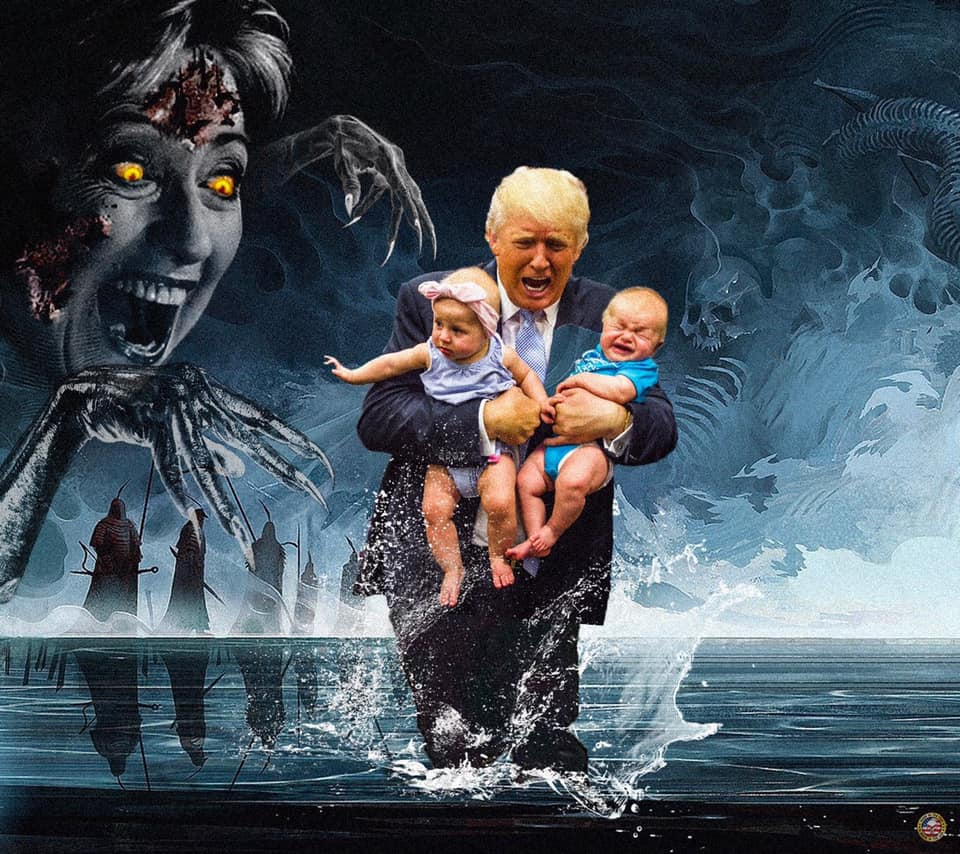 Nightmare Trump Art | Industrial Estate of Mind